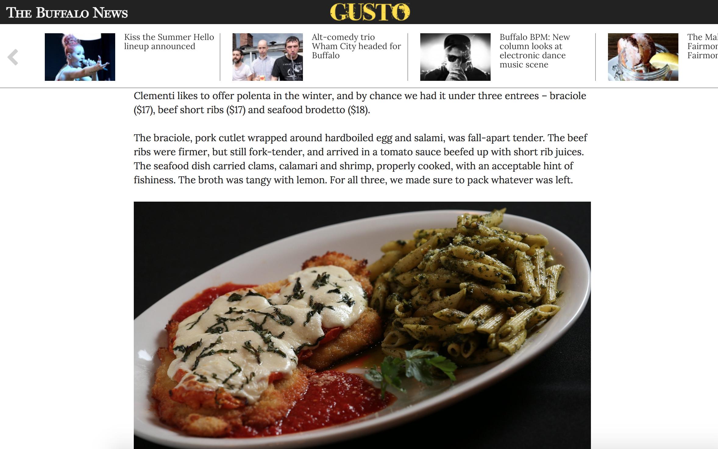 Gusto Cipollina Review